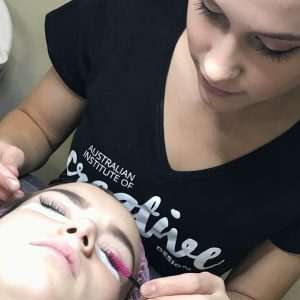 long eyelash extensions