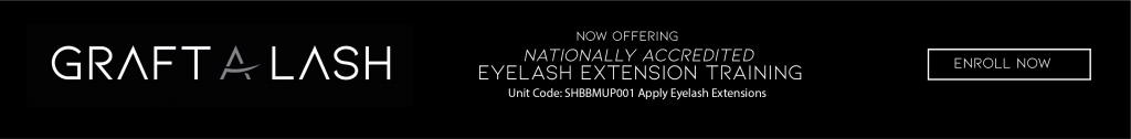 nationally accredited eyelash extension training shbbmup001